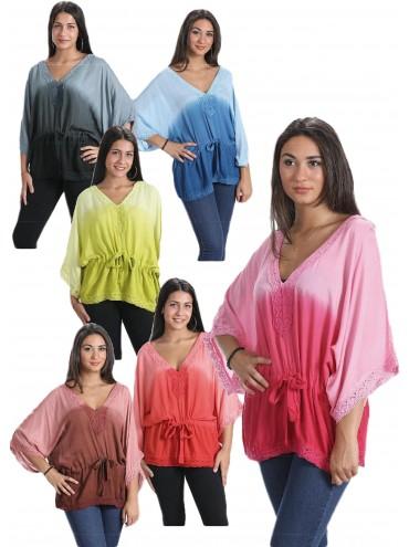 Blusa Degradé + colores