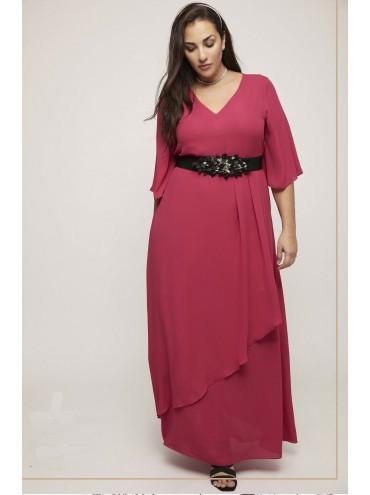 Vestido Gasa (Rosa o Azul)