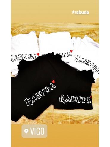 Camiseta RABUDA + colores