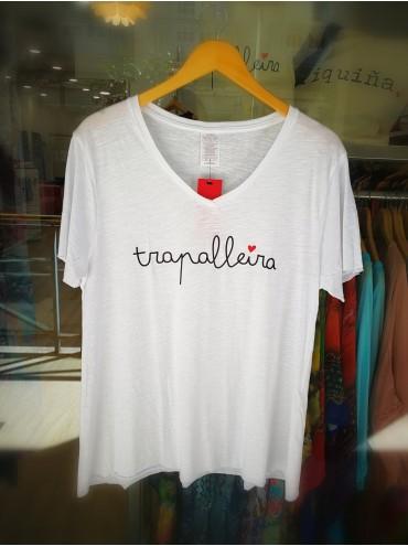Camiseta Trapalleira Blanca