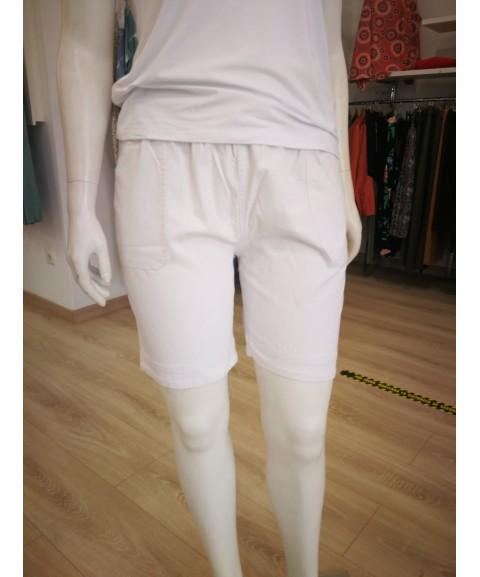 Pantalón corto blanco