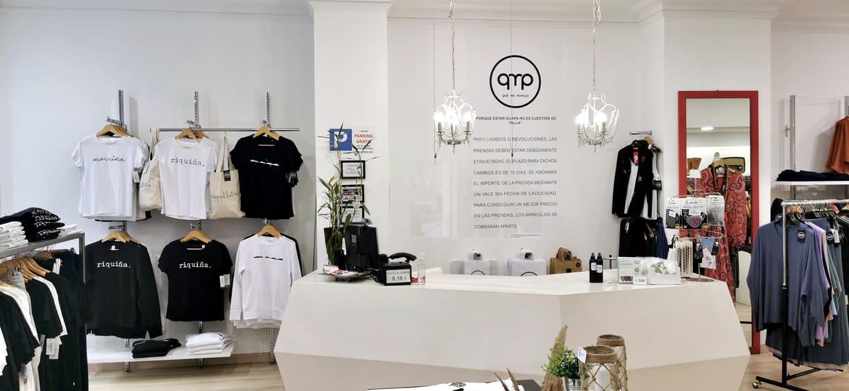 Interior tienda QMP